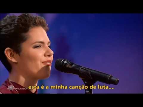 Calysta Bevier cantando Fight Song - Rachel Platten