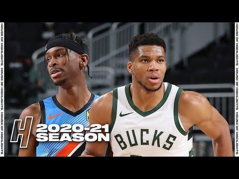 Oklahoma City Thunder vs Milwaukee Bucks - Full Game Highlights | February 19, 2021 NBA Season