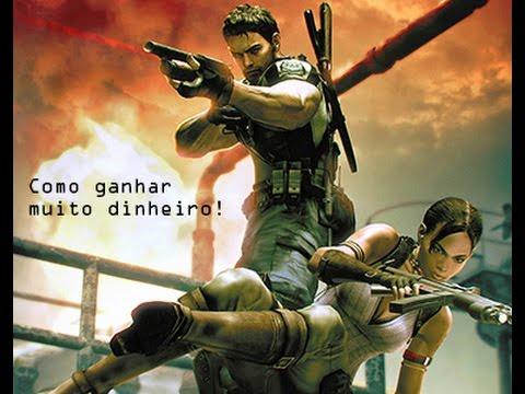 Como Ganhar Muito Dinheiro Rápido E Fácil Em Resident Evil 5
