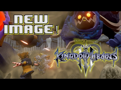 NEW KINGDOM HEARTS 3 IMAGE! THEBES! NEW HEARTLESS BOSS!