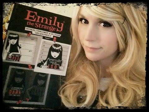ASMR Emily The Strange . Close Up Whispers . German . Partly Unintelligible . Tracing