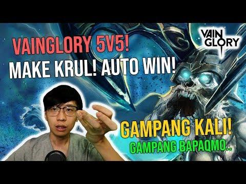 Vainglory 5v5! Nyobain Hero Krul Di VG! AUTO EMOSI!