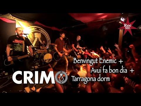 """Crim """"Benvingut Enemic"""" + """"Avui fa bon dia"""" + """"Tarragona dorm"""" @ Estraperlo (03/12/2016)"""