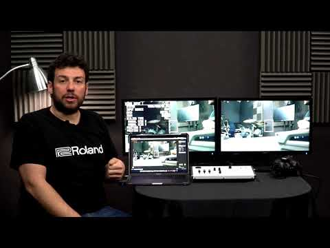 Easy to Use HD Video Switcher for Live Streaming Roland VR 1HD