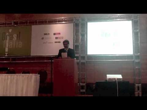 Forum Economico Brasile Italia - Pietro Celi (MG)