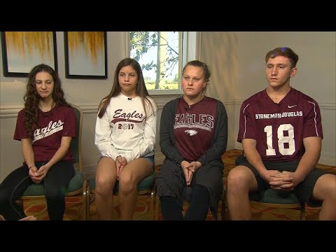 "Florida students on school shooting: ""We will be brave and fight"""