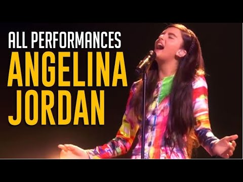 Angelina Jordan: ALL Performances On America's Got Talent Champions