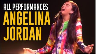 Angelina Jordan: ALL Performances on America's Got Talent Champions