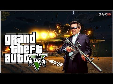 """Grand Theft Auto V - #22 """"Złoty pociąg"""""""