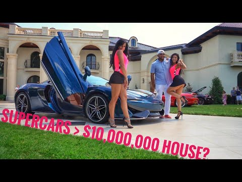 supercars-crash-$10,000,000-million-dollar-house-party-&-mod2fame-caught-it-on-camera