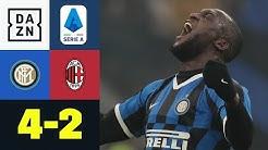 Furiose zweite Halbzeit! Inter dreht irres Derby: Inter Mailand - AC Mailand 4:2 | Serie A | DAZN