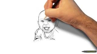 The making of a Chase portrait sketch Thumbnail