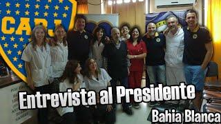 Entrevista al Presidente de la Peña Xeneize de Bahia Blanca | Joaco Entrevistas
