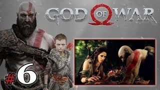 "GOD OF WAR [PS4] (18+) #6 - ""Leśna wiedźma i wąż"""