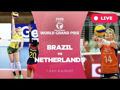 Brazil v Netherlands - Group 1: 2017 FIVB Volleyball World Grand Prix
