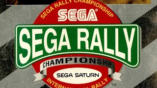 Classic Game Room - SEGA RALLY CHAMPIONSHIP review for Sega Saturn!