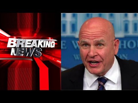BREAKING! H.R. MCMASTER OUT JOHN BOLTON TO TAKE OVER AS NATIONAL SECURITY ADVISOR!