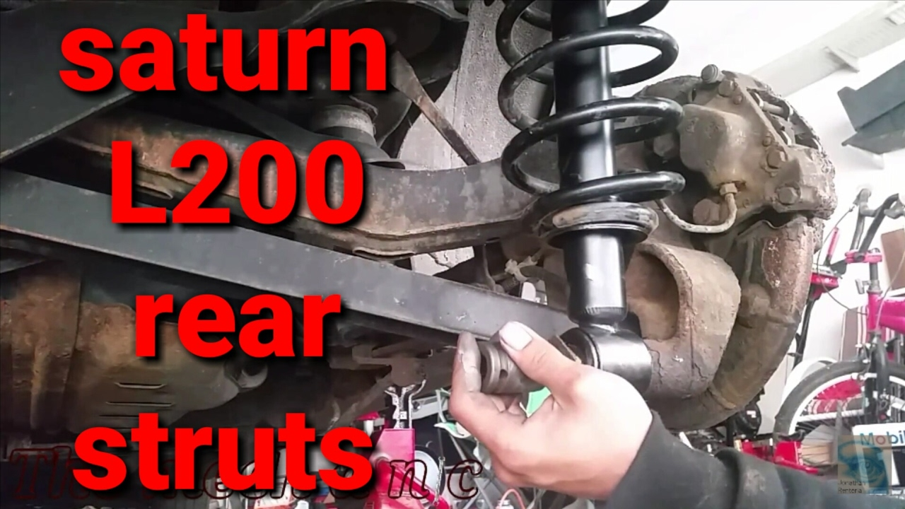 2002 saturn l200 rear strut youtube rh youtube com saturn sl1 rear suspension diagram saturn sl1 rear suspension diagram