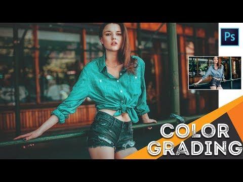 Photoshop Tutorial : Cinematic Color Grading Tutorial