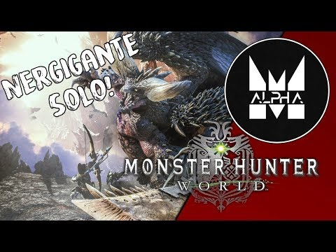 «maelstromALPHA» Nergigante (Solo) – Monster Hunter World x Cowboy Bebop