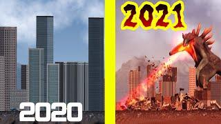 核兵器や巨大怪獣・隕石・竜巻・ブラックホールなどの大量破壊兵器で街をぶっ壊すゲ…