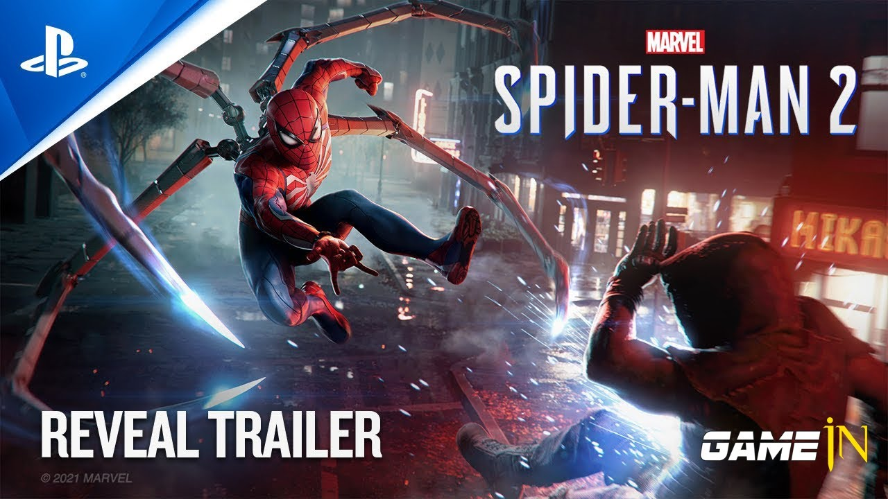 Trailer Video over Marvel's Spider Man 2 - eveal Trailer PS5