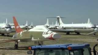 309th AMARG Bus Tour - The Military Aircraft Boneyard in Tucson, AZ