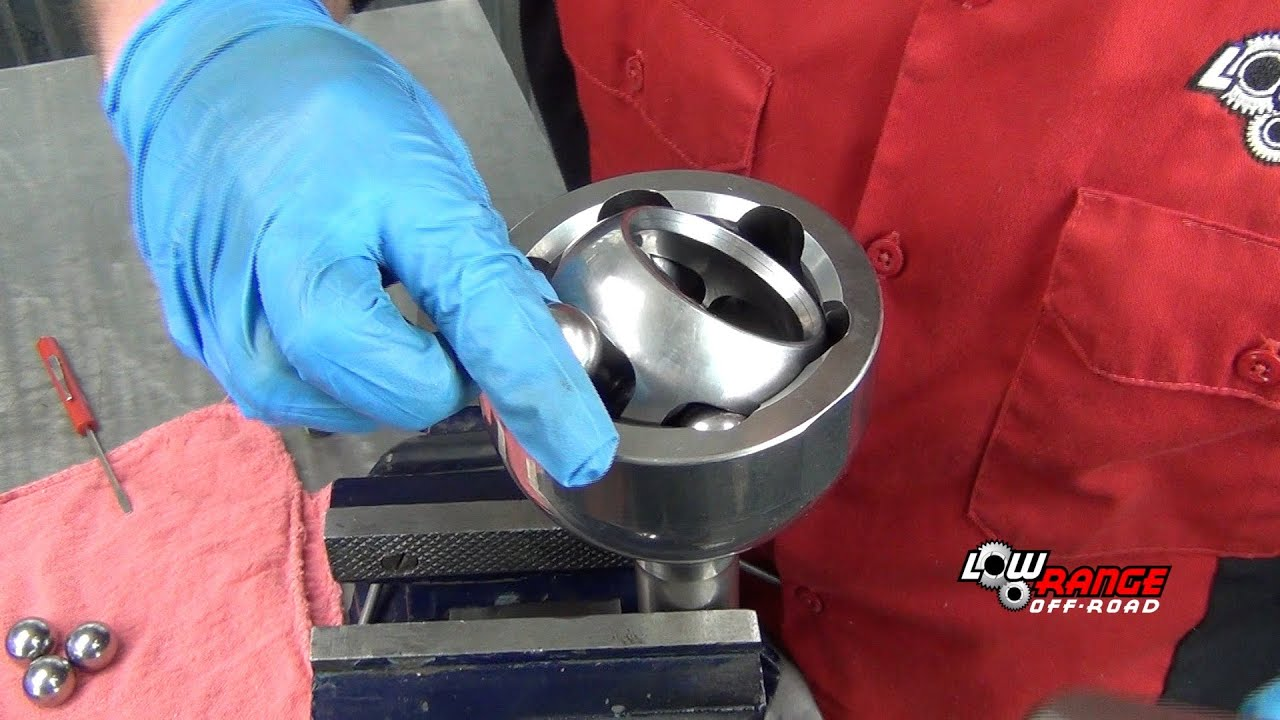 How To Rebuild a Constant Velocity (CV or Birfield) Joint