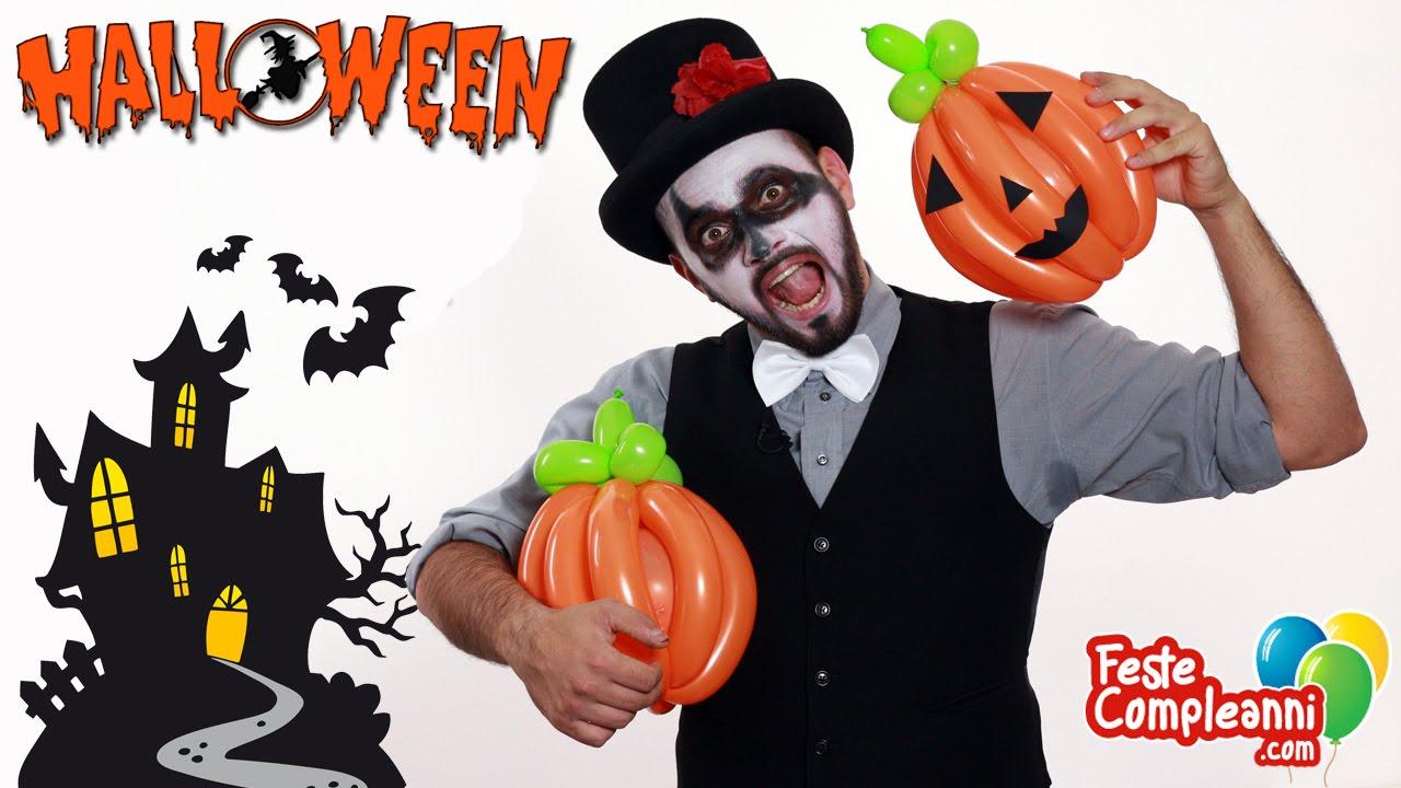 Balloon Pumpkin - Palloncino Zucca di Halloween - Tutorial 22 - Feste  Compleanni - YouTube be4c57cdc814