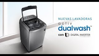 Especificaciones de lavadora samsung Activ DualWash