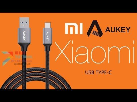 Review Kabel Usb Type-c Aukey Nylon: Kualitas Super Bisa Nyekek Begal (Cocok Untuk Xiaomi)