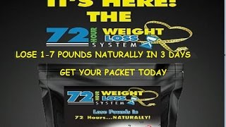 Lose Weight Naturally Affordably And FAST #72HourWeightLoss Lose 1-7lbs in 3 Days