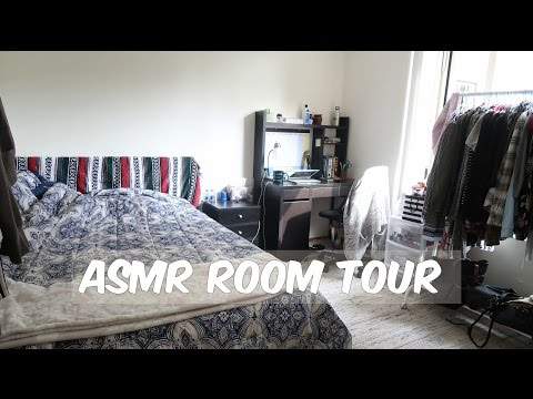 ASMR (whispered) NYC Apartment Room Tour!