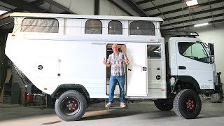 Ultimate Global Expedition Vehicle - All Terrain Warriors Alpha Camper