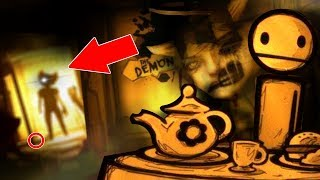 BENDY'S PATH! ALICE ANGEL IS NOT HAPPY! | Bendy and The Ink Machine Chapter 3 SECRETS & BENDY ENDING