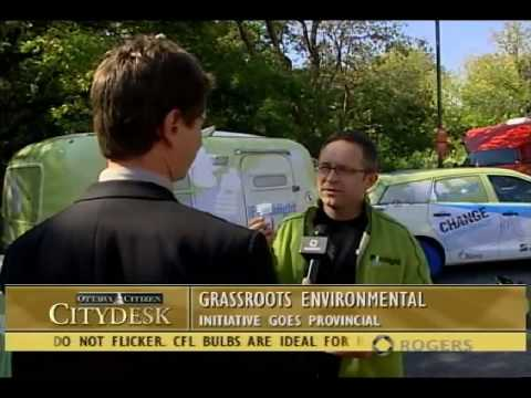 CityDesk Ottawa - Grassroots Environmental Initiative goes Provincial