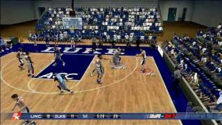 College Hoops 2K7 Xbox 360 Gameplay - Blue Devils