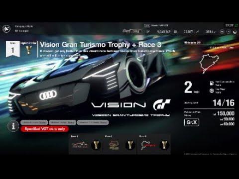 Gran Turismo Sport | GT League Professional Vision Gran Turismo Trophy +