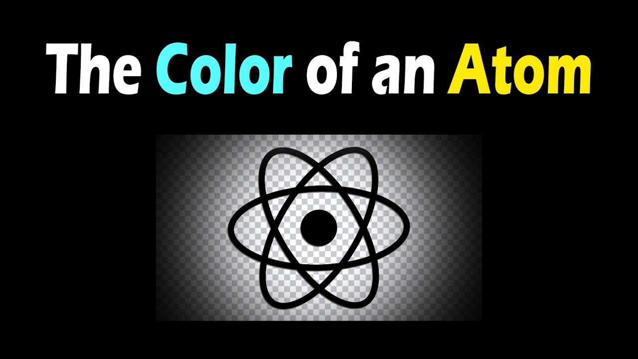 The Color of an Atom
