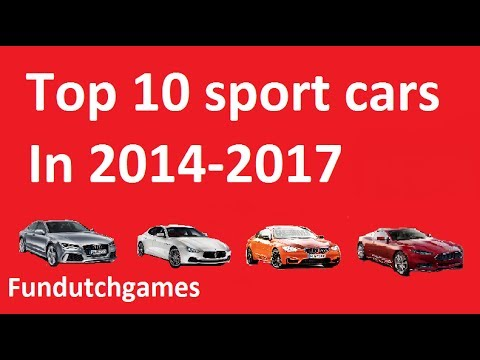 Top 10 Sport Cars In 2014 2017