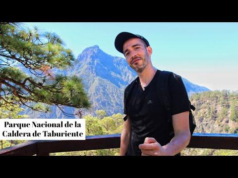 CALDERA de TABURIENTE 🌳 Ruta de SENDERISMO 🏝 LA PALMA