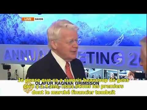 """Olafur Ragnar Grimsson: """"nous avons laissé les banques faire faillite"""""""