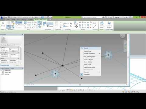 Space Frame Modeling in Revit