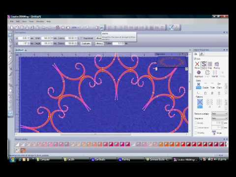 creative drawings embroidery digitizing software 5 demo