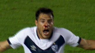 Independiente le ganó sobre la hora Vélez con un polémico penal