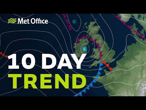 10 Day Trend – Thundery breakdown, then what? 24/04/19