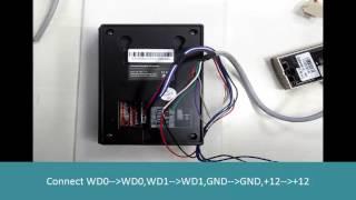how t oconnect KR500 Reader to sc403