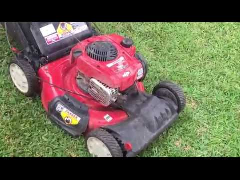 Unboxing New Mower Troy Bilt Self Propelled With Hond