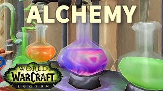 A Mysterious Text WoW Alchemy
