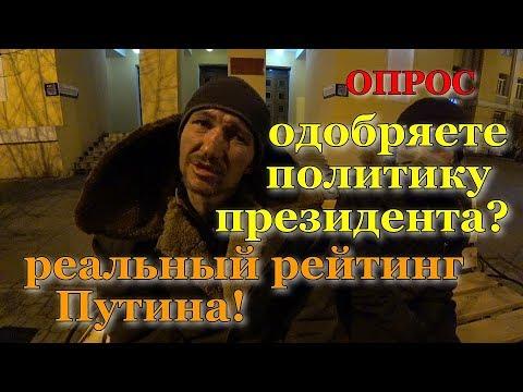 Реальный рейтинг Путина в Чите. 26.02.2020